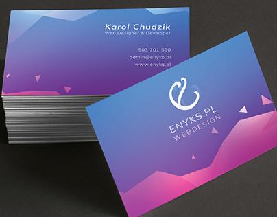 business card visual identification