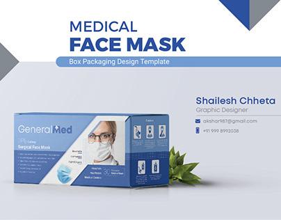 Medical Face Mask - Packaging Design