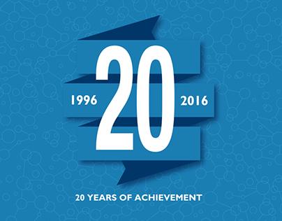 World Water Council | 20th Anniversary Logo