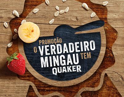 """Promoção """"O Verdadeiro Mingau tem Quaker"""""""