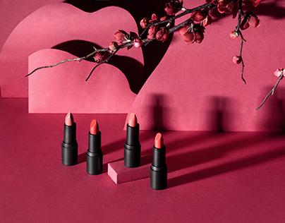 Oriental Red Lipstick