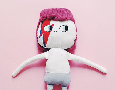 Bowie doll
