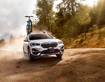 BMW X1 - Outdoor Edition / Photo-Manipulation