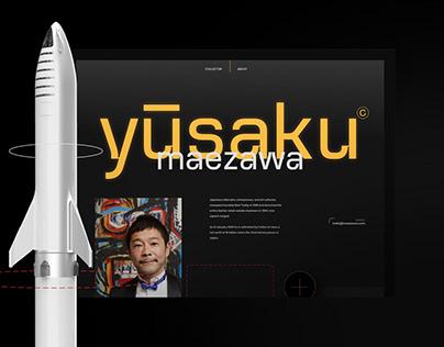 Yusaku Maezawa portfolio concept