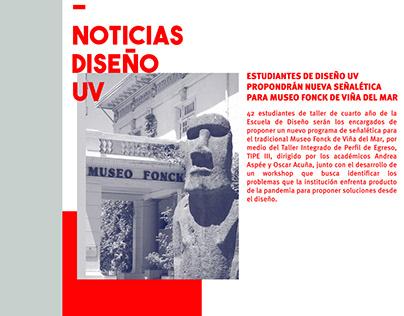 Publicación UV RRSS