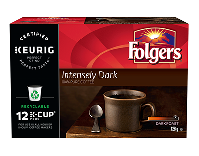 Smukers - Folgers Coffee redesign