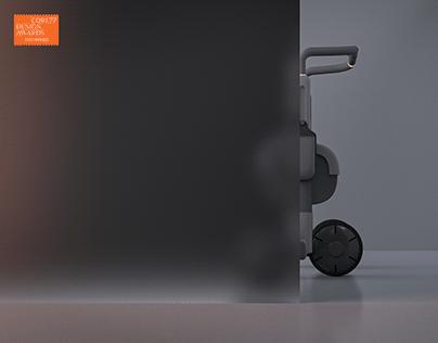 ALFRED; robotic walker for seniors