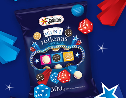 Solitas Mini Surtidas - Packaging design