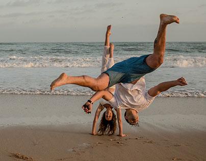 Photographers Jeffrey's Bay Couple Beach Portraits