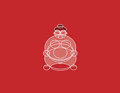 Sumo wrestler made from ellipse tool: by Milos Subotic
