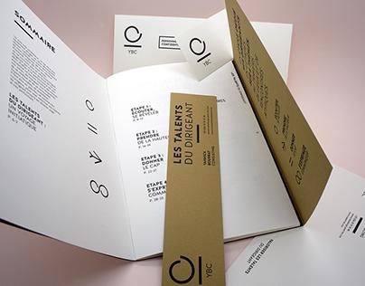Cabinet YBC - Identité et édition