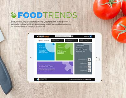 FOODTRENDS - Food Analytics Web App