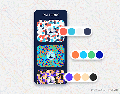 Background pattern - Daily UI