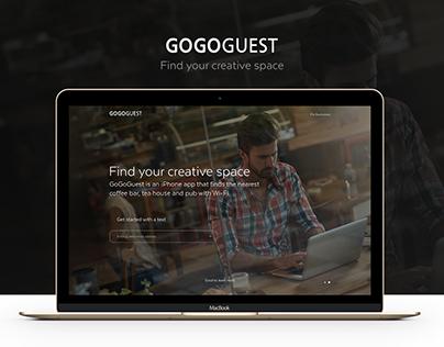 GoGoGuest website