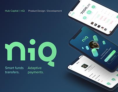 NiQ e-wallet | UX/UI