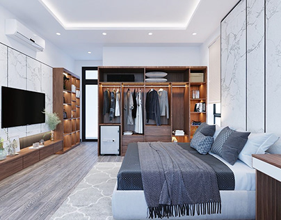 3D Interior Scenes File 3dsmax Model Bedroom 233