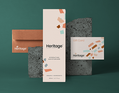 Heritage cosmetic- branding & packaging