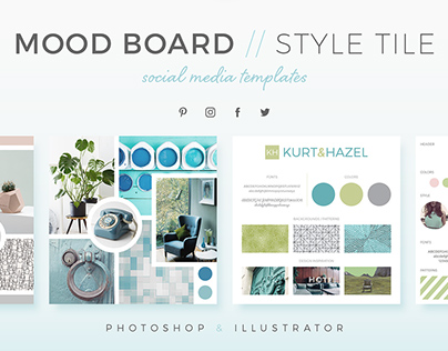 Mood Boards / Style Tiles