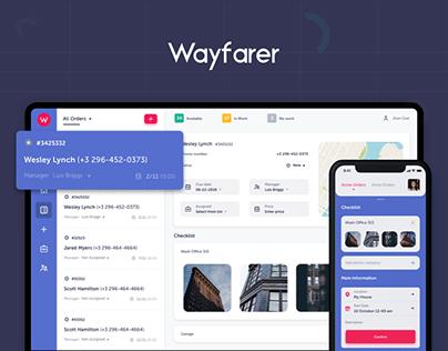 Wayfarer - Your flawless service management system