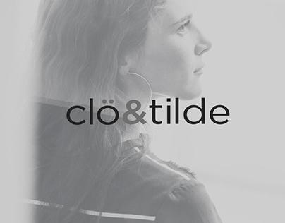 Identidad corporativa y diseño web Clo&tilde
