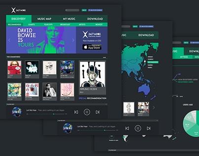 24/7 MIXX - Web Design
