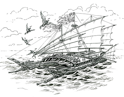 Fantasy Ships for D&D with Great GM