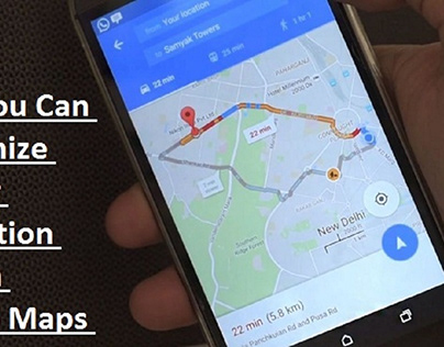 Customize the Car Navigation Icon on Google Maps