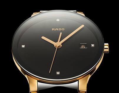 Rado Centrix Automatic Diamond Gold