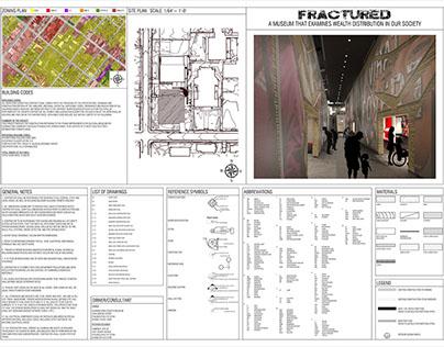 Design 7- Fractured Museum Construction Documents