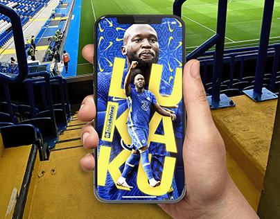 Romelu Lukaku I Mobile Wallpaper for Talk Chelsea.net
