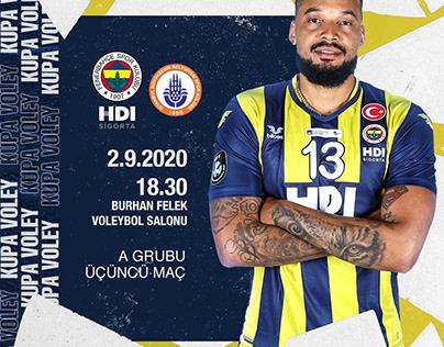 Matchday | Fenerbahçe Voleybol