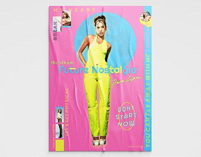 Future Nostalgia Music Poster