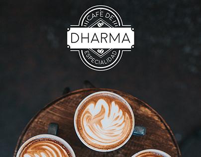 Logotipo Dharma Coffee