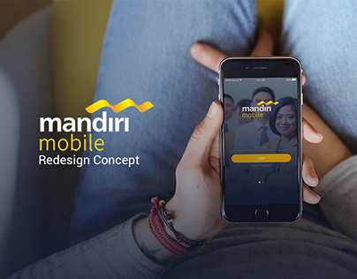 Mandiri Mobile Banking Apps Redesign concept