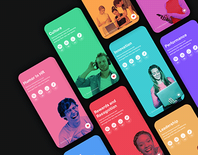 Content App - Category screen designs