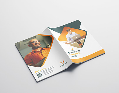 16 pages Company Profile brochure Design template