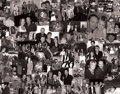 Various Family Collages