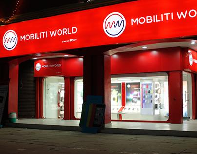 Retail Chain Store Design for 'Mobiliti World'