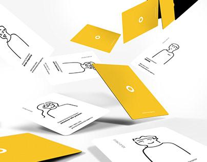solid circle: visual identity & illustration (branding)