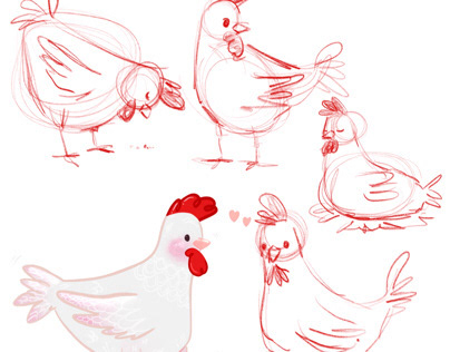 Character Design - Chicken