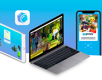 Goopy AR Platform and App