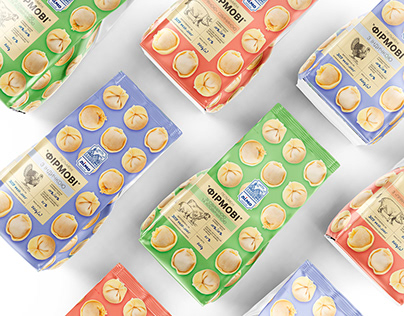 Packaging design for dumplings