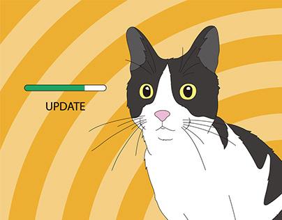 貓 / 插圖創作