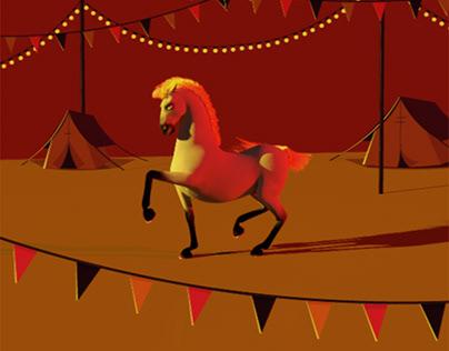 Dancing Horse loop for The Big Jig festival