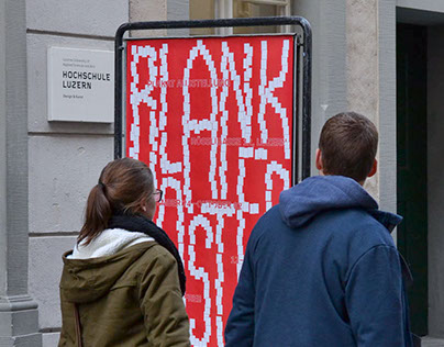 Blank Poster - Weltformat exhibition