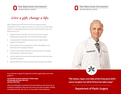 Donor Brochure