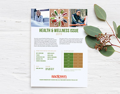 Sactown Magazine Health & Wellness One-Page