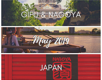 Gifu & Nagoya, Japan - May 2019