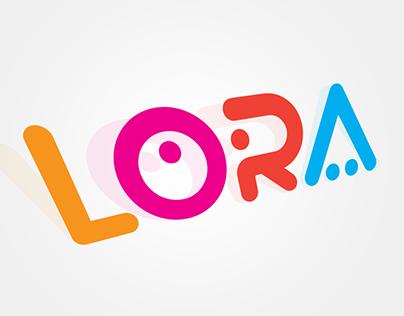 LORA Logo Design