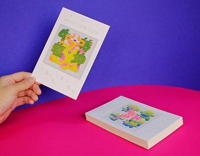 TSUBAKI CHINESE NEW YEAR GREETING CARD 2021